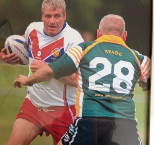 Carl Wilson Masters Rugby League