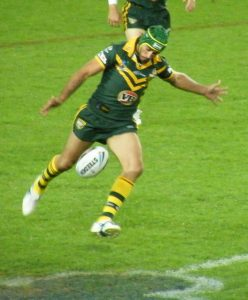 Champion halfbacks NRL History Johnathan Thurston