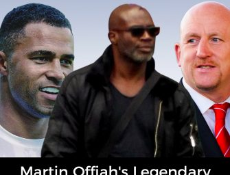 Martin Offiah's Legendary XVII