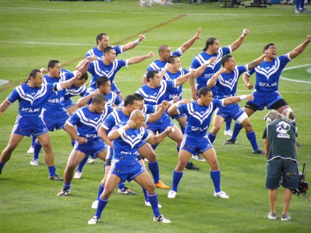 The Future of International Rugby League Samoa War Cry