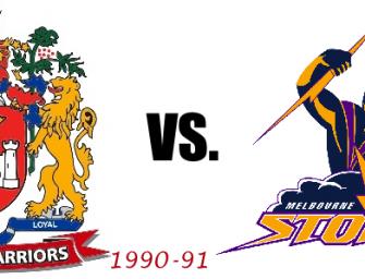 Fantasy Match: Wigan Warriors (1990-91) vs. Melbourne Storm (2007)